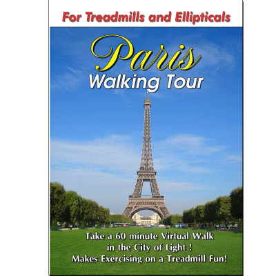 PARIS WALKING TOUR DVD